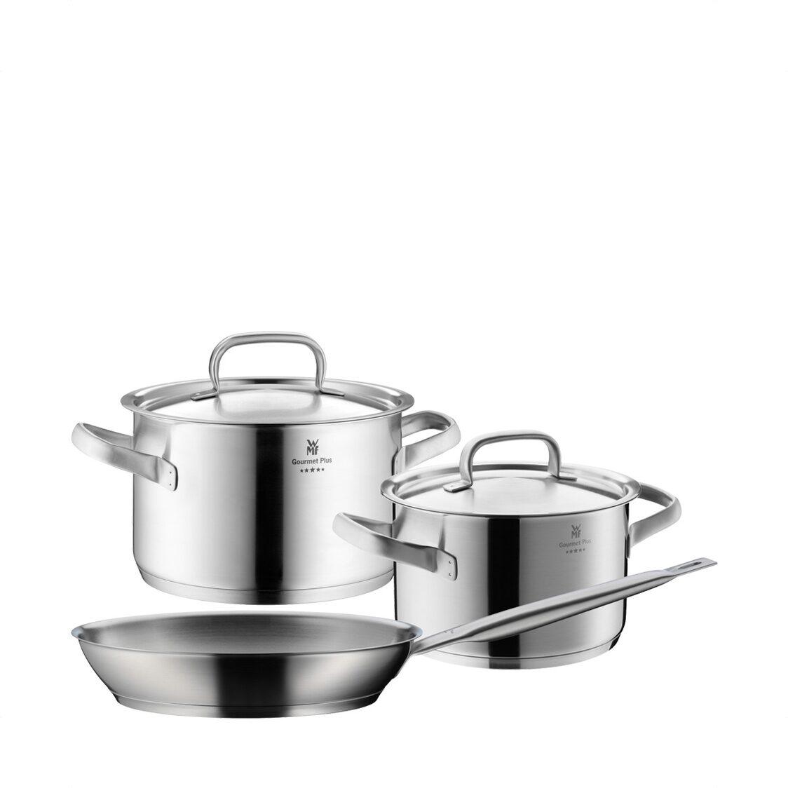 WMF Gourmet Plus 3pc Cookware Set