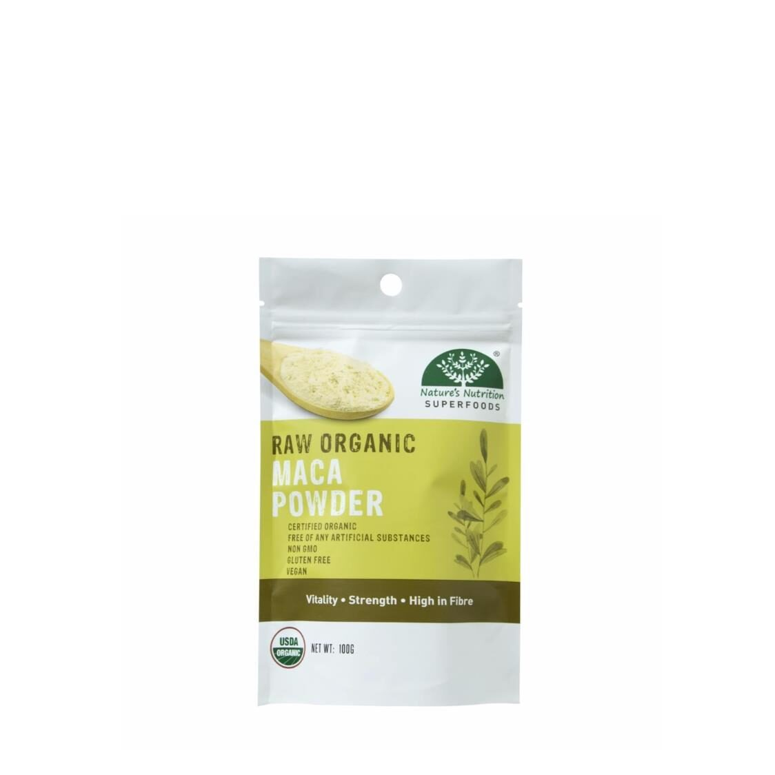 Natures Nutrition Organic Maca Powder 100g