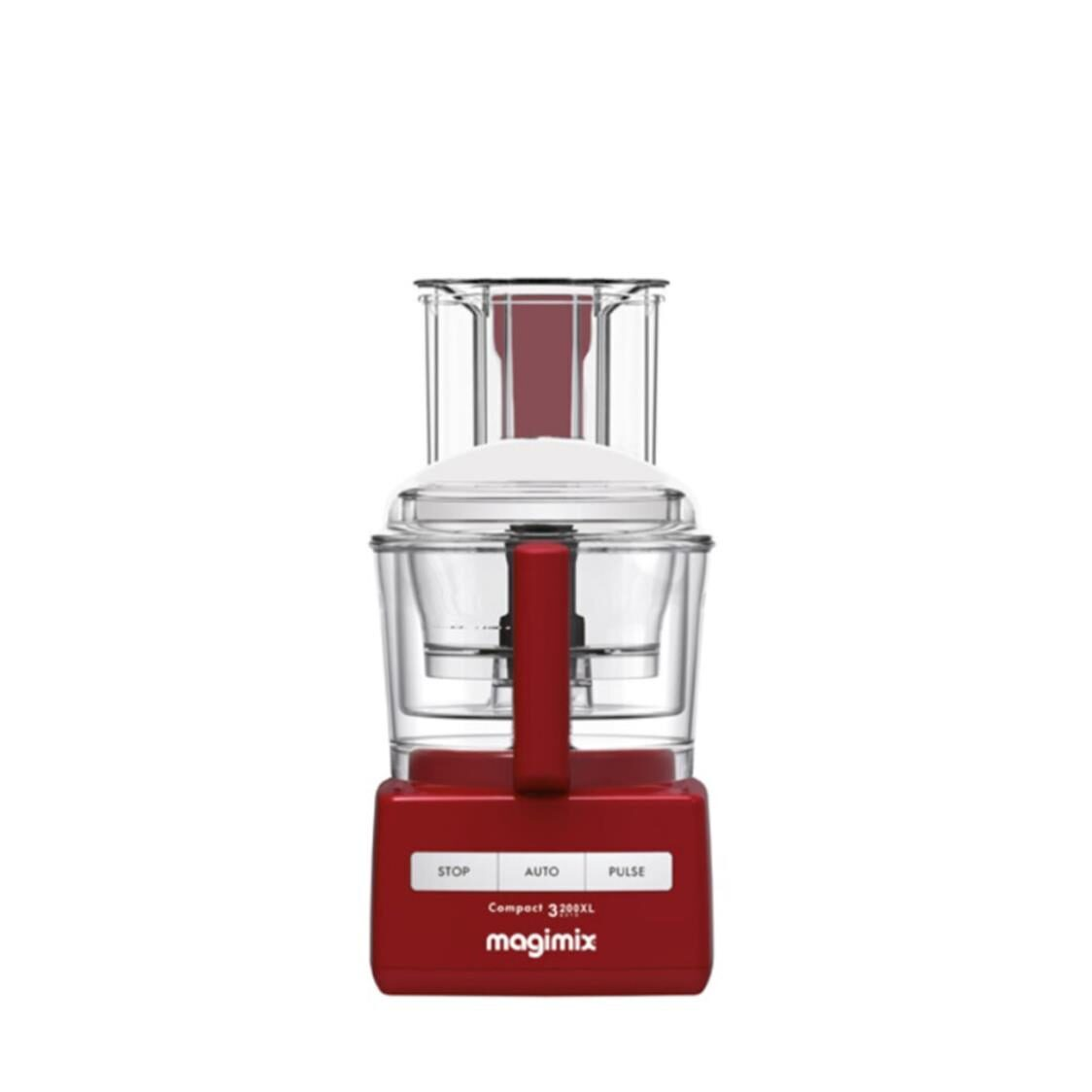 Magimix 3200XL Compact-Rouge Multifunction Food Processor