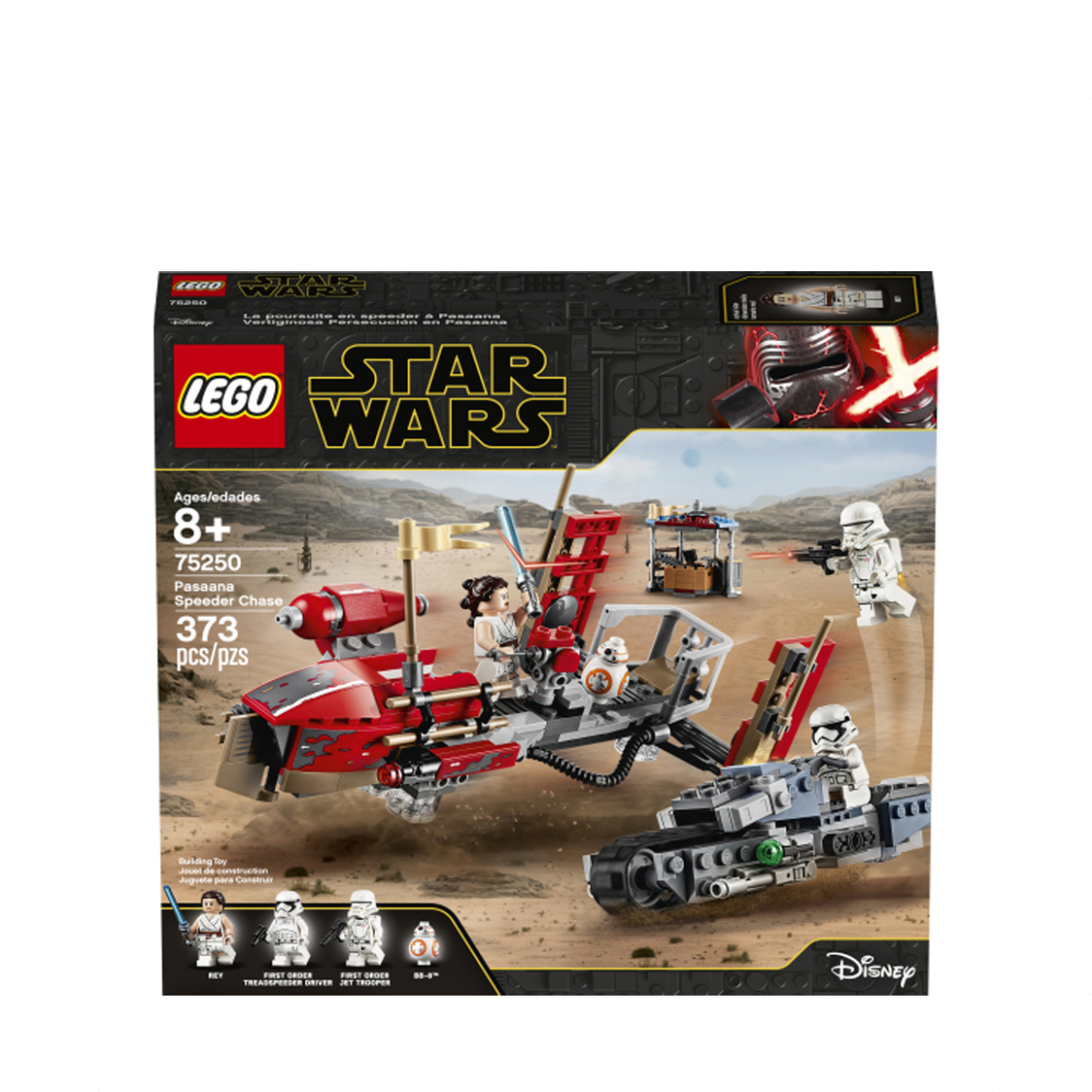 LEGO Star Wars - Pasaana Speeder Chase 75250 V29
