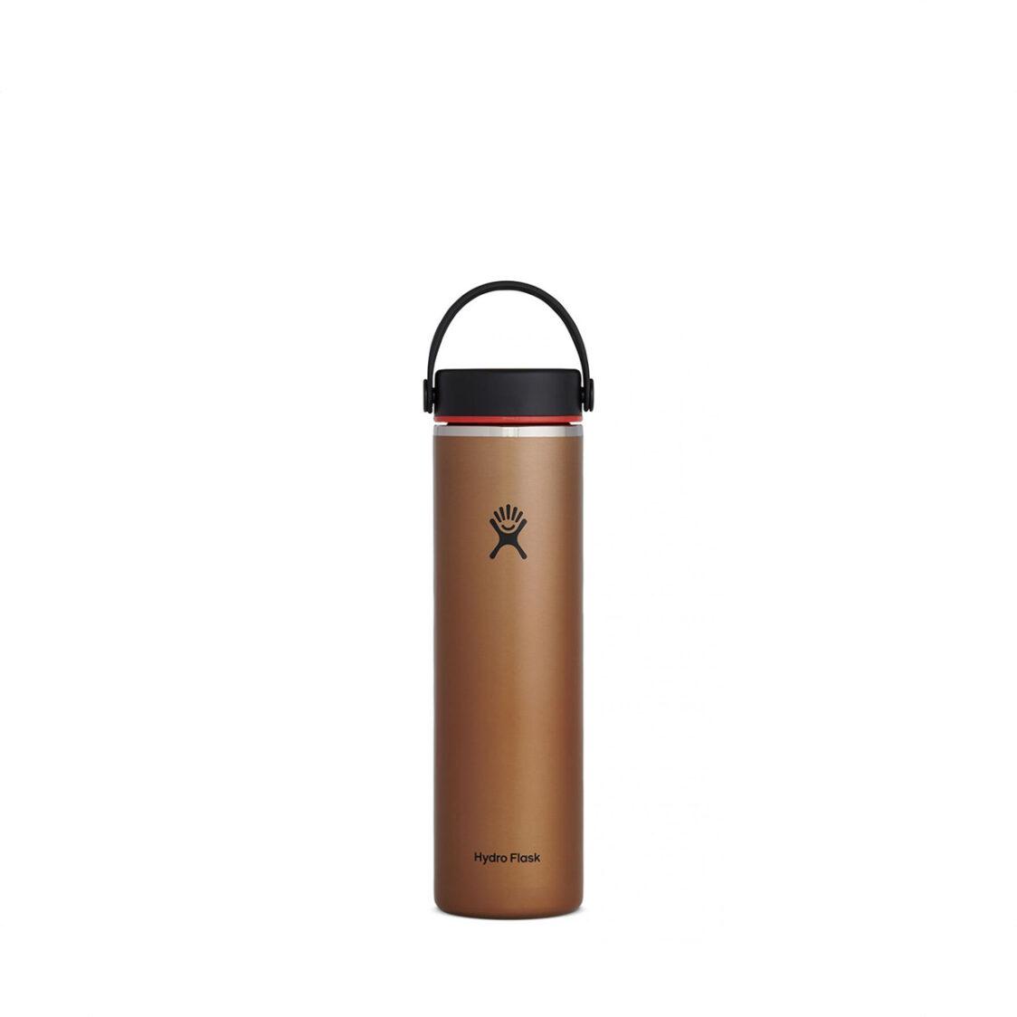Hydro Flask Lightweight Wide Mouth Flex Cap 24oz Clay