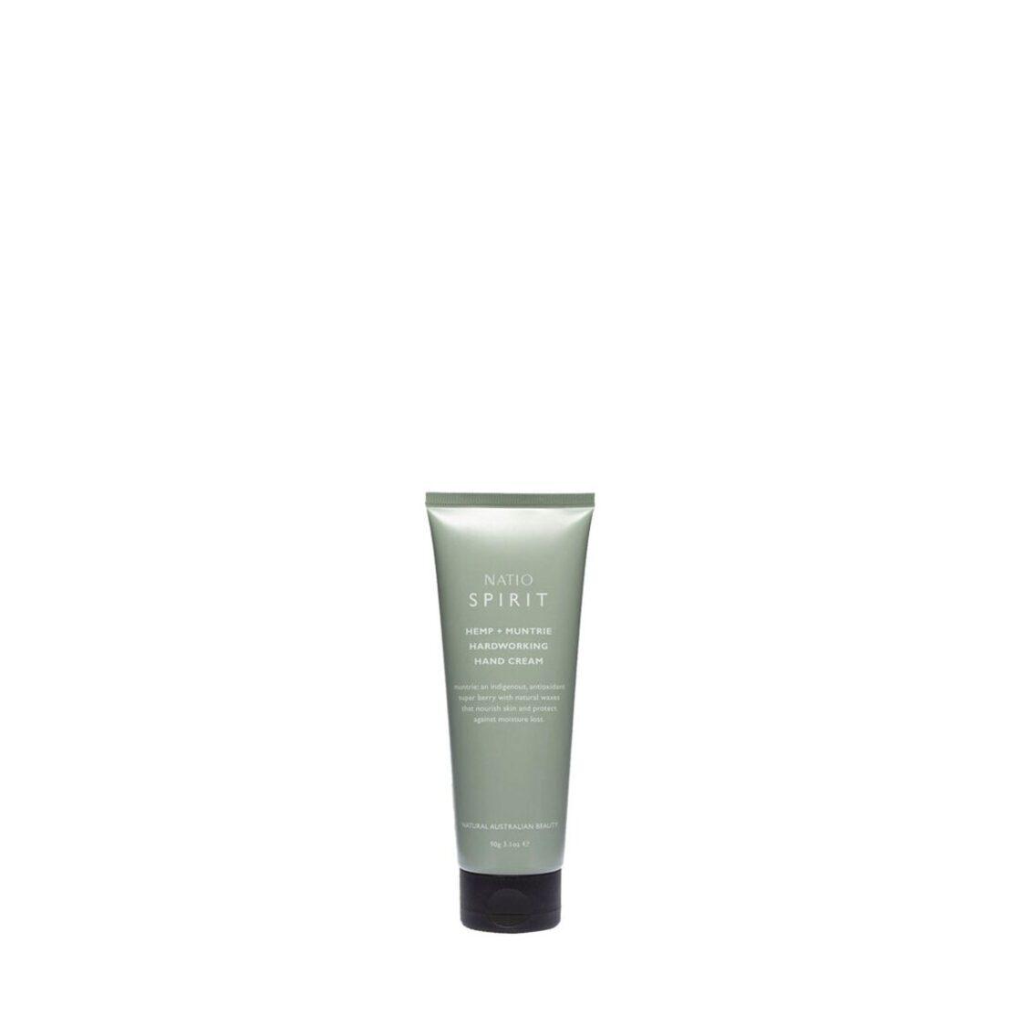 Natio Spirit Hemp  Muntrie Hardworking Hand Cream 90g