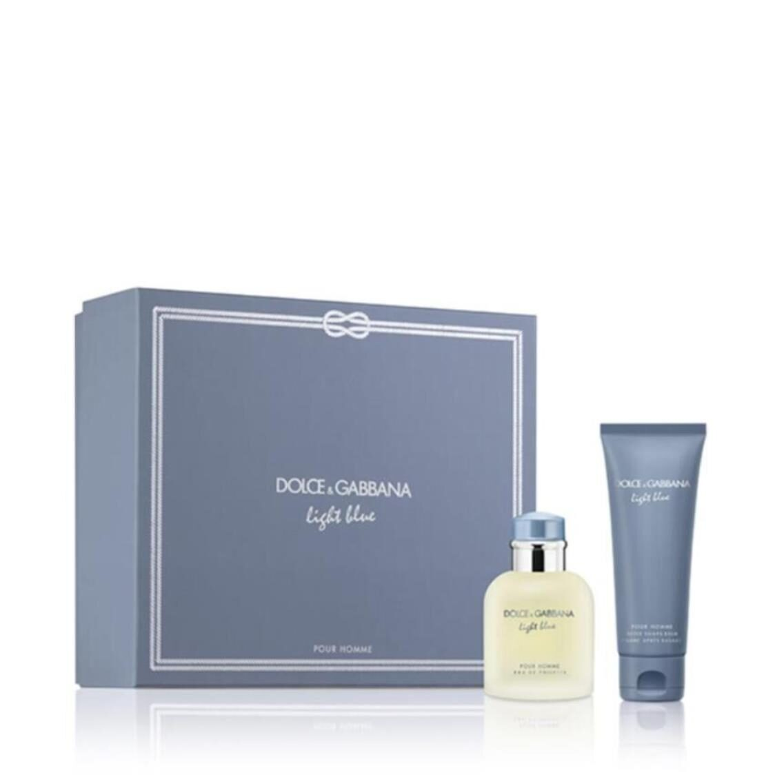 Dolce  Gabbana Light Blue Pour Homme EDT 75ml Duo Gift Set