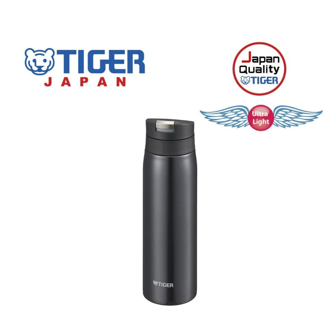 Tiger 500ml Double Stainless Steel Mug MCX-A501KL - Lamp Black