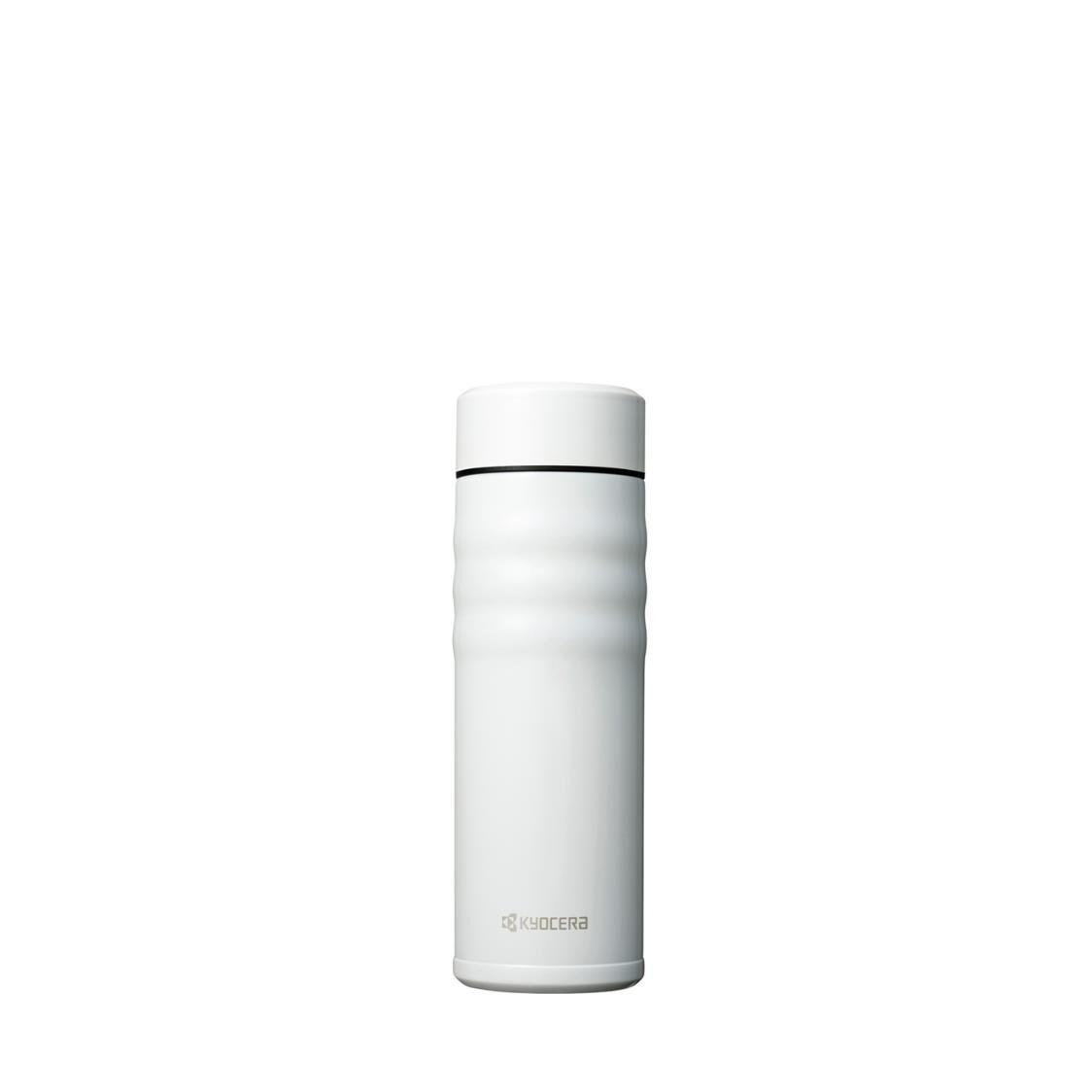 Kyocera 500ml Advanced Ceramic Coated Cerabird Mug White MB-17S WH
