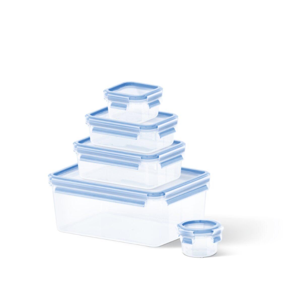 Tefal Masterseal Plastic Fresh Box 5pcs Set K30290