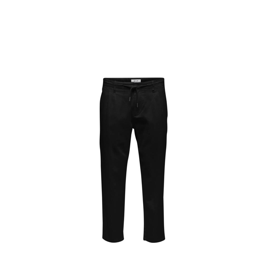 Only  Sons Onsleo Linen Mix GW 3002 Noos Black