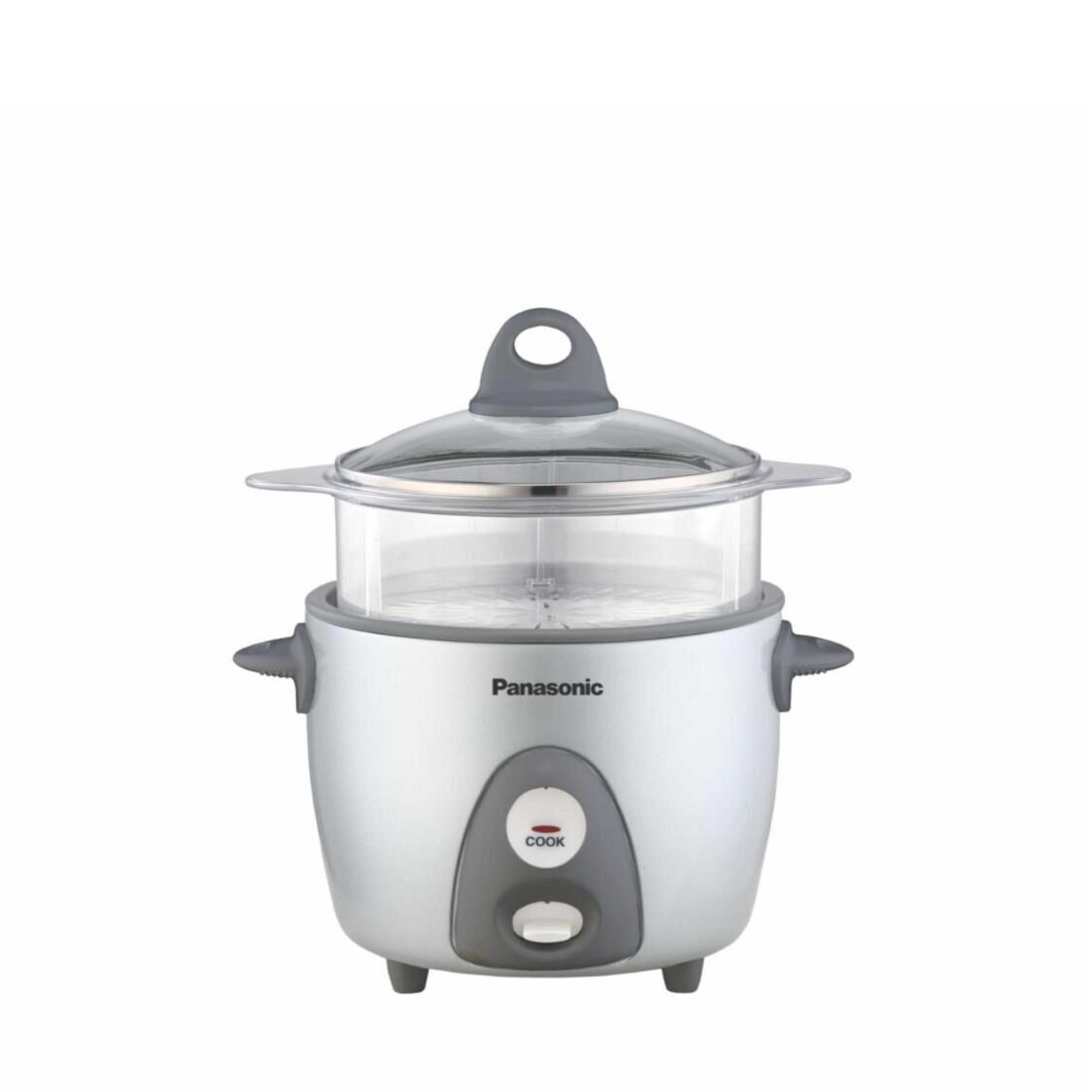 Panasonic 06L Rice Cooker With Steam Basket SR-G06 Silver