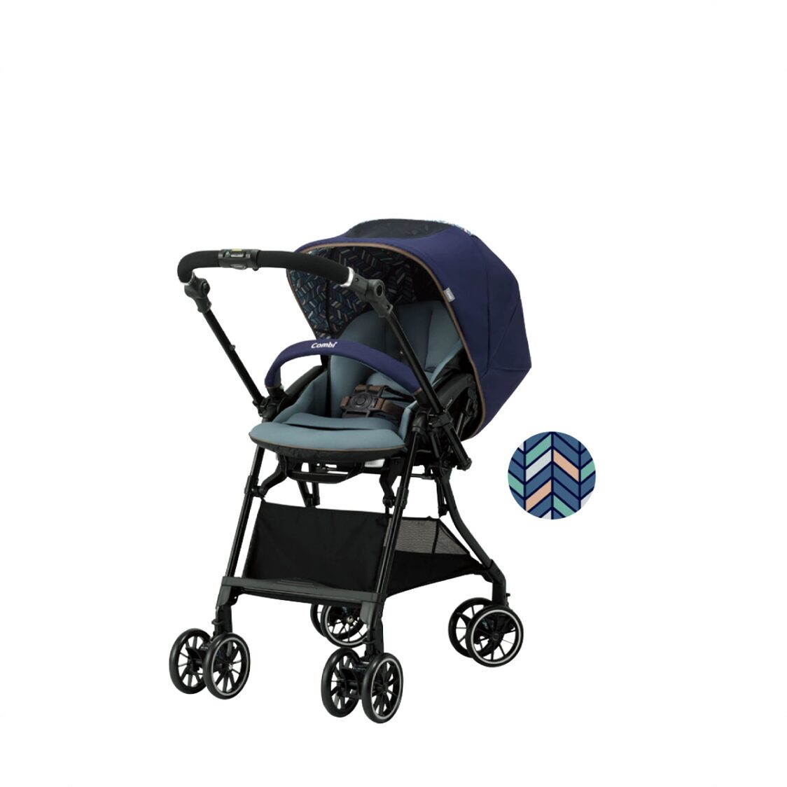 Combi Sugocal Compact Navy Stroller 51kg 136 Months