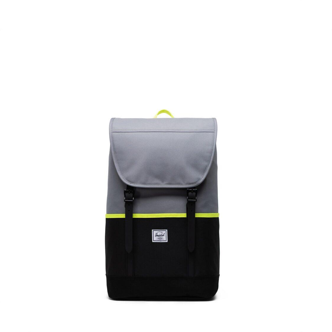 Herschel Retreat Pro GreyBlackSafety Yellow Backpack 11039-04942-OS