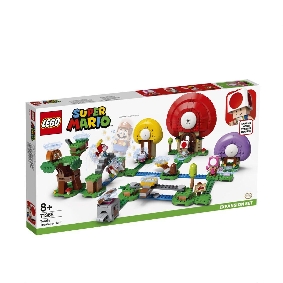 LEGO Super Mario - Toads Treasure Hunt Expansion Set 71368 V29