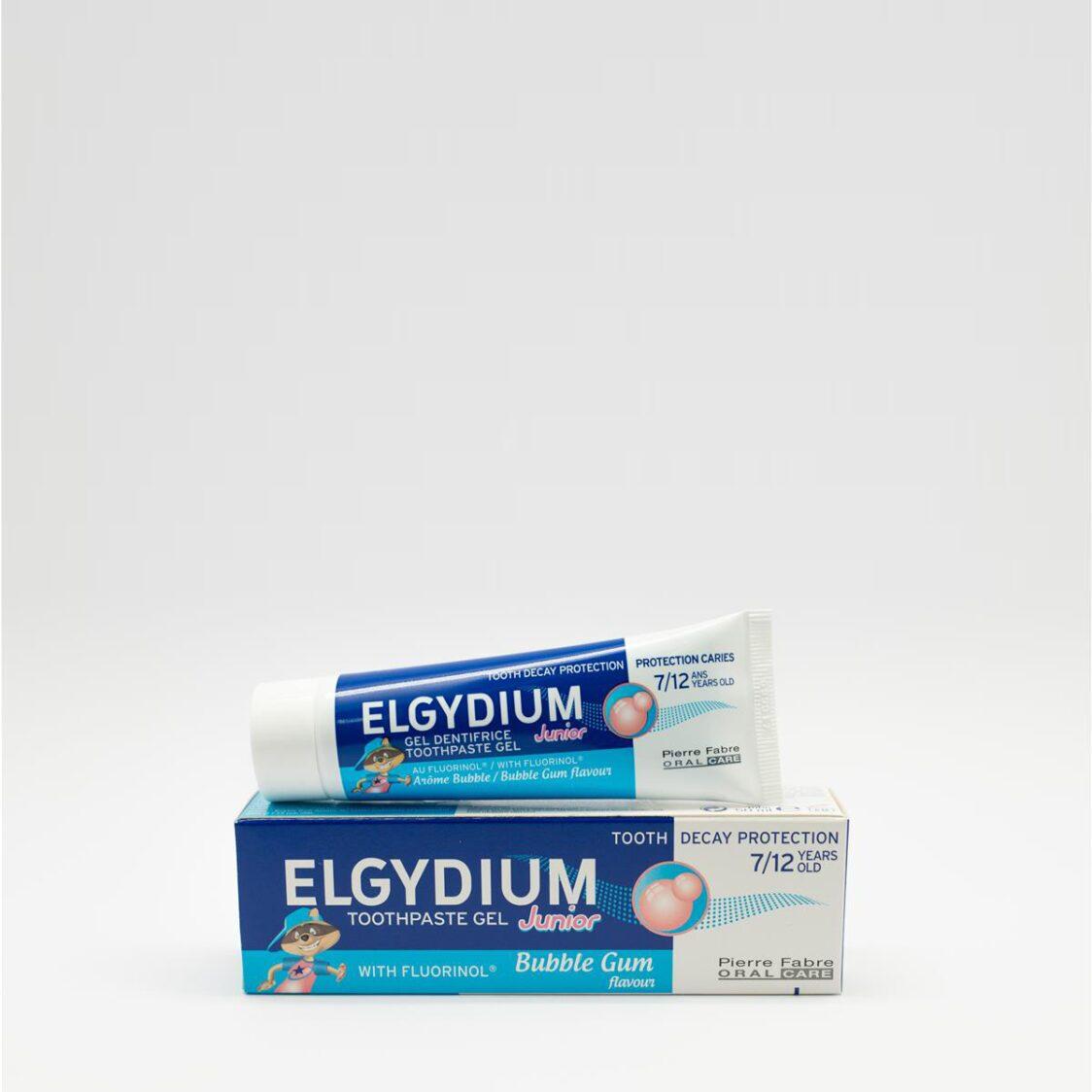 Elgydium Junior Bubble Gum Toothpaste Gel 50ml