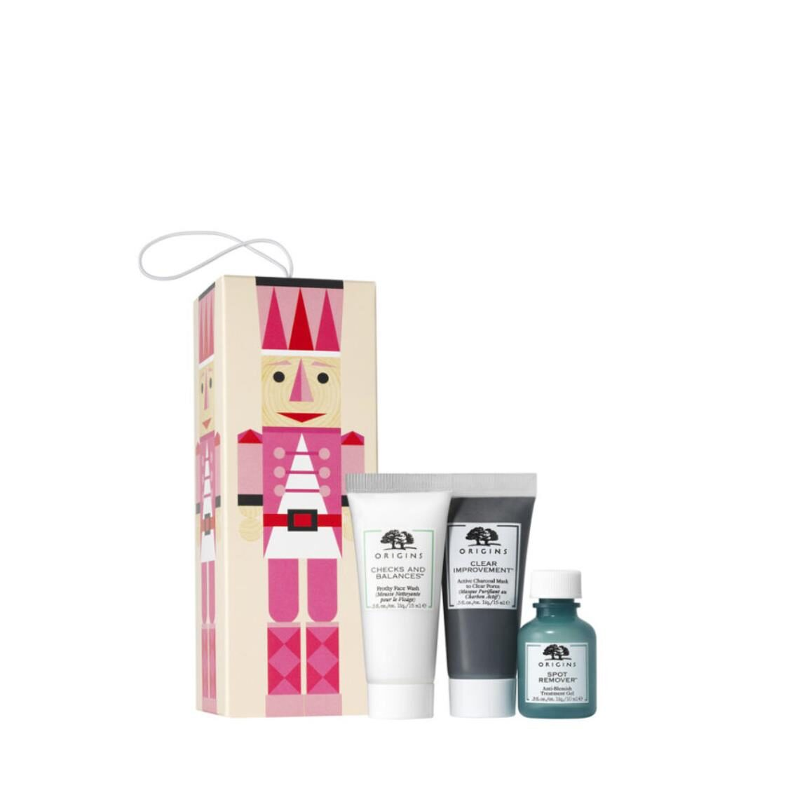 Origins Detox With Delight Cleansing Purifying  Spot-Fighting Trio Set