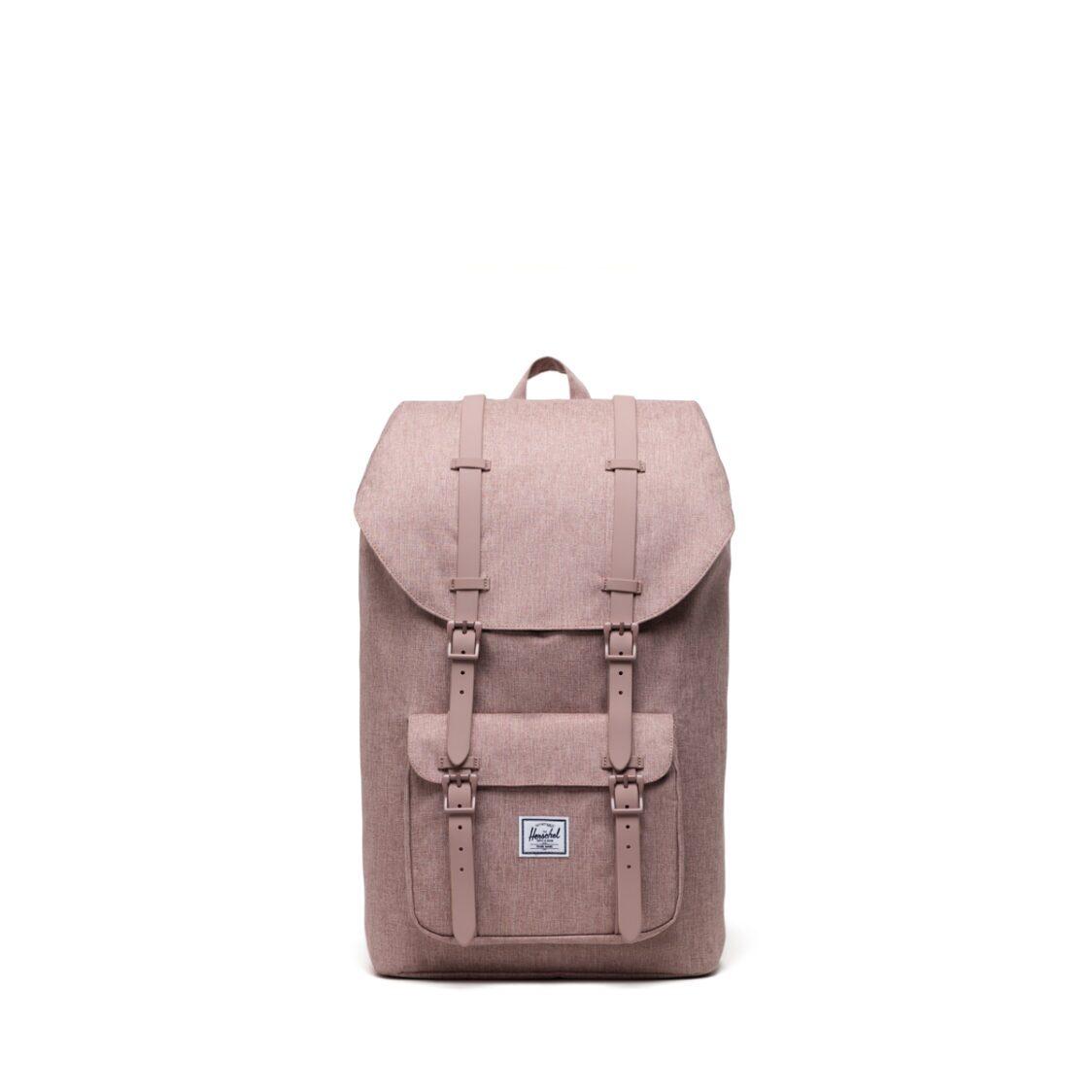 Herschel Little America Ash Rose Crosshatch Backpack 10014-04885-OS