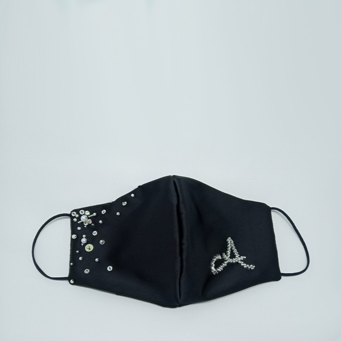 Gayatri Mask - Initial Black