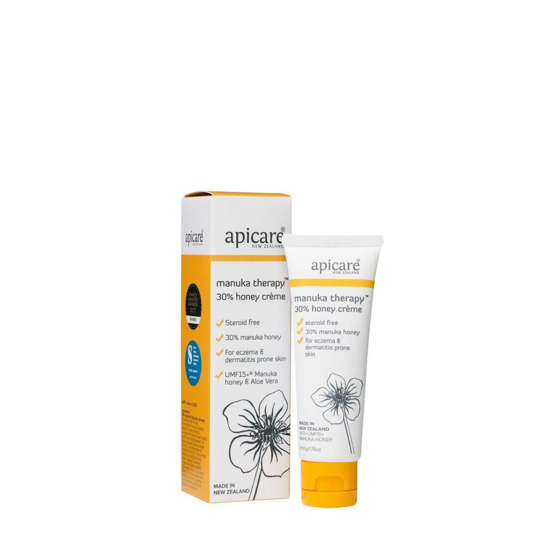 Apicare Manuka Therapy 30 Honey Skin Crme 50g