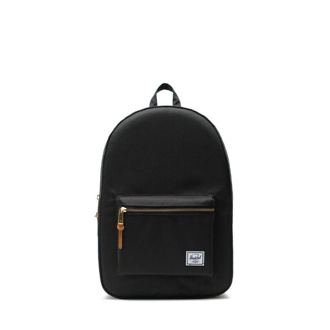 Herschel Settlement Black Backpack 10005-00001-OS