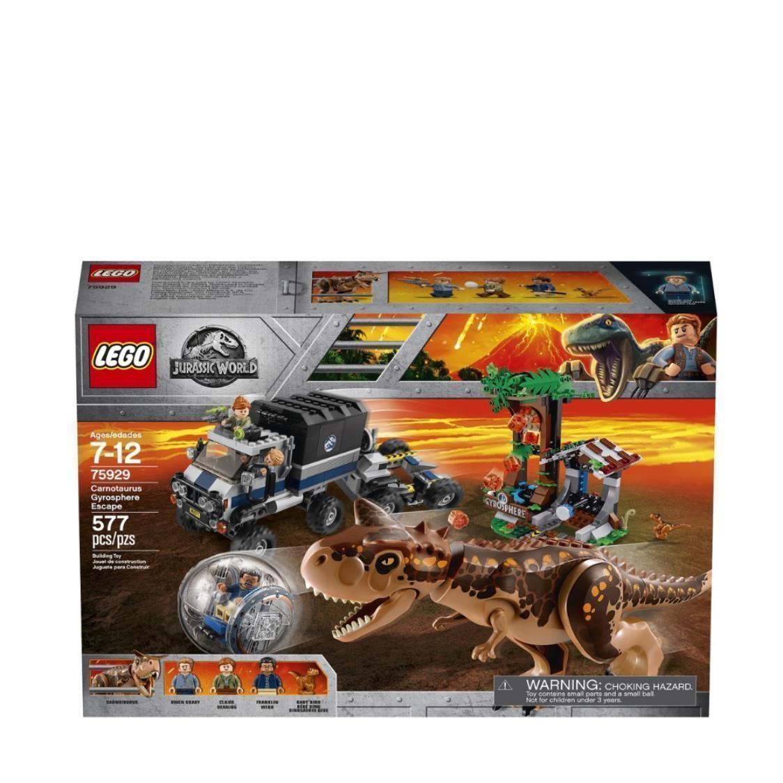 LEGO Jurassic World - Carnotaurus Gyrosphere Escape 75929 V29