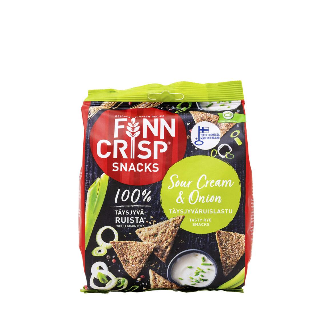 Finn Crisp Sour Cream  Onion - Snack 150g