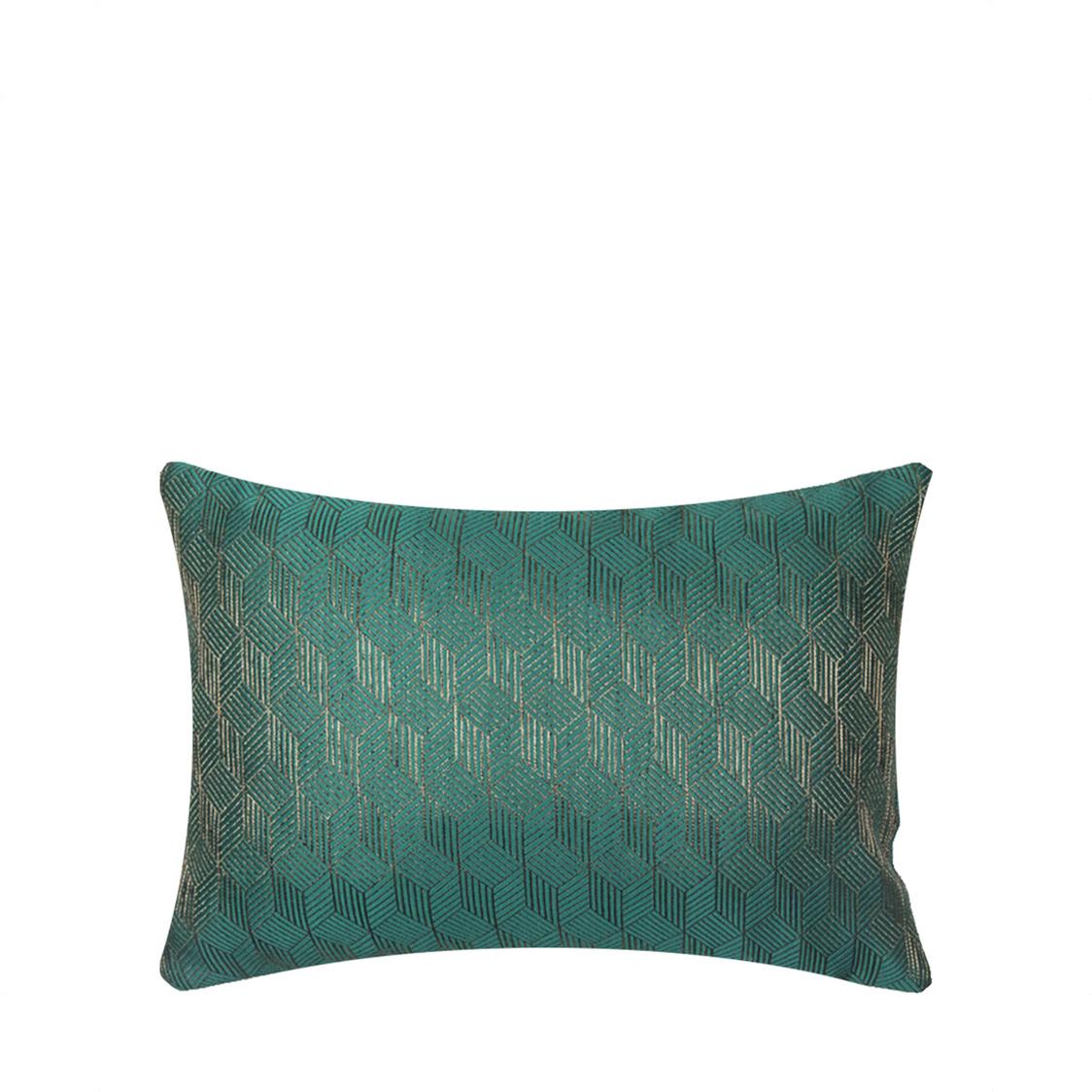 JRapee Anthunam Oblong Cushion Green 33x48cm