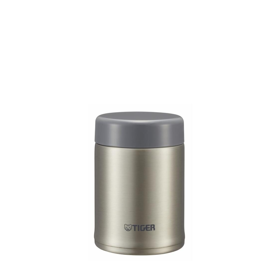 Tiger 250ml Double Stainless Steel Soup Porridge Cup Clear Stainless MCA-025XC