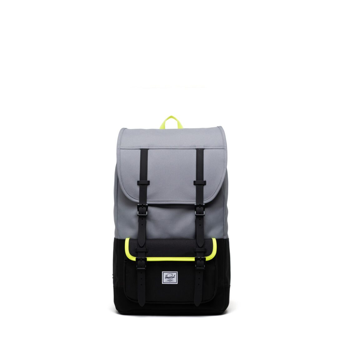 Herschel Little America Pro GreyBlackSafety Yellow Backpack 11038-04942-OS