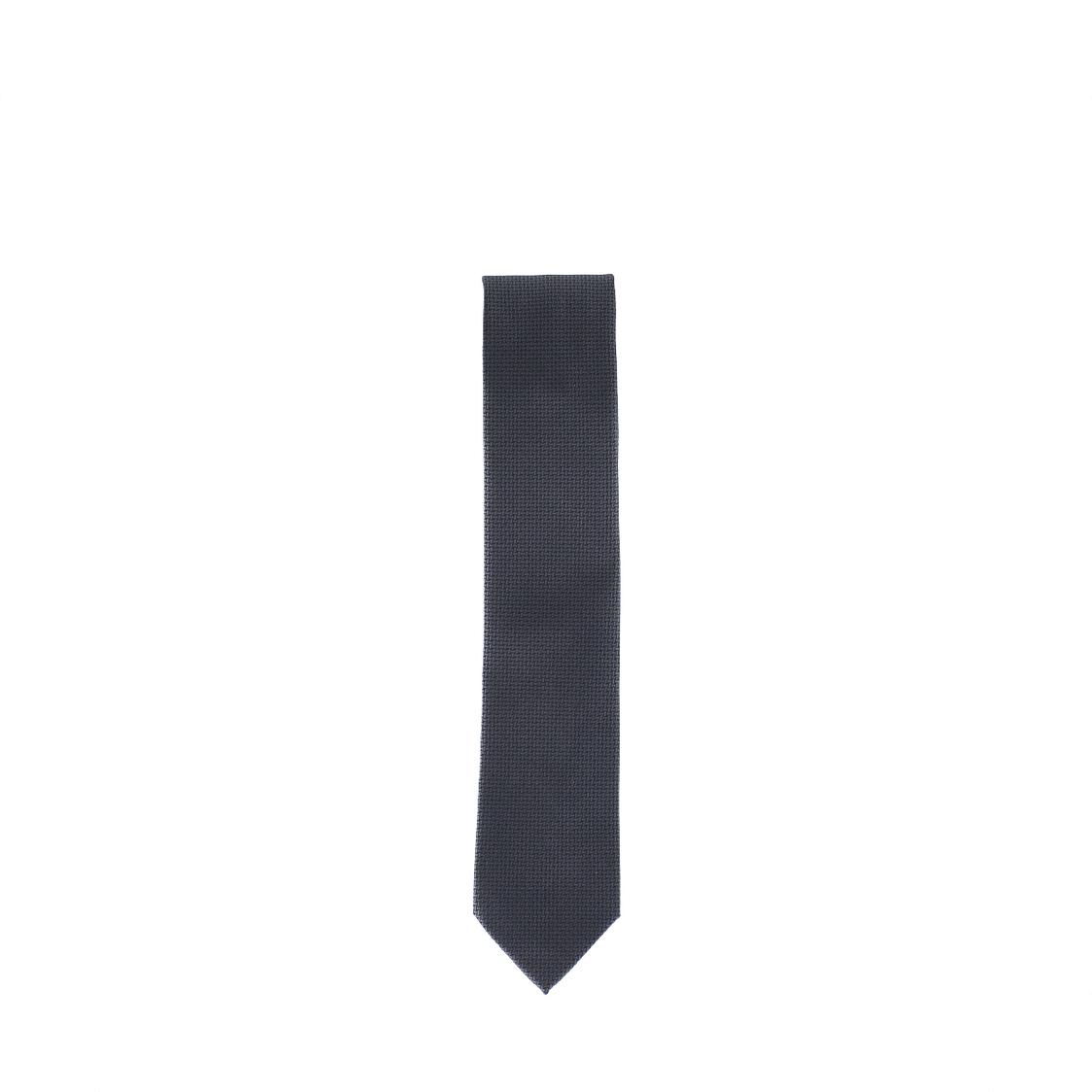 Pierre Cardin 100 Micro Polyester 7cm Black Tie