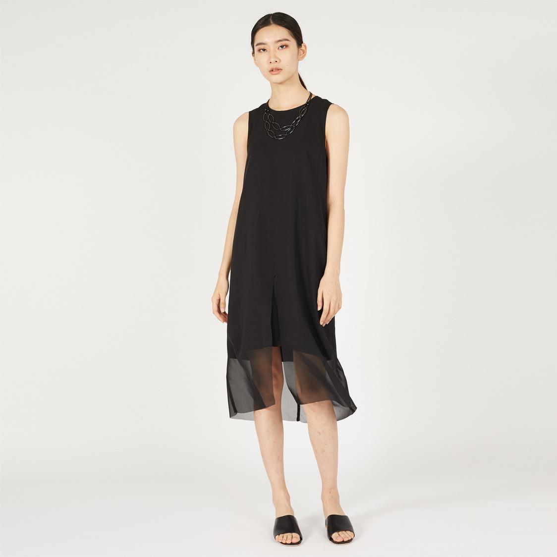 MPhosis Thea Midi Dress Black