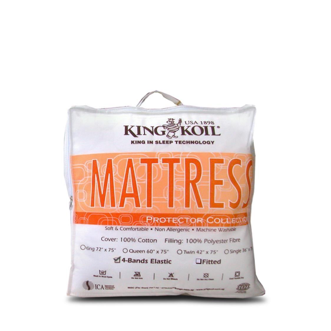 King Koil Cotton Mattress Pad