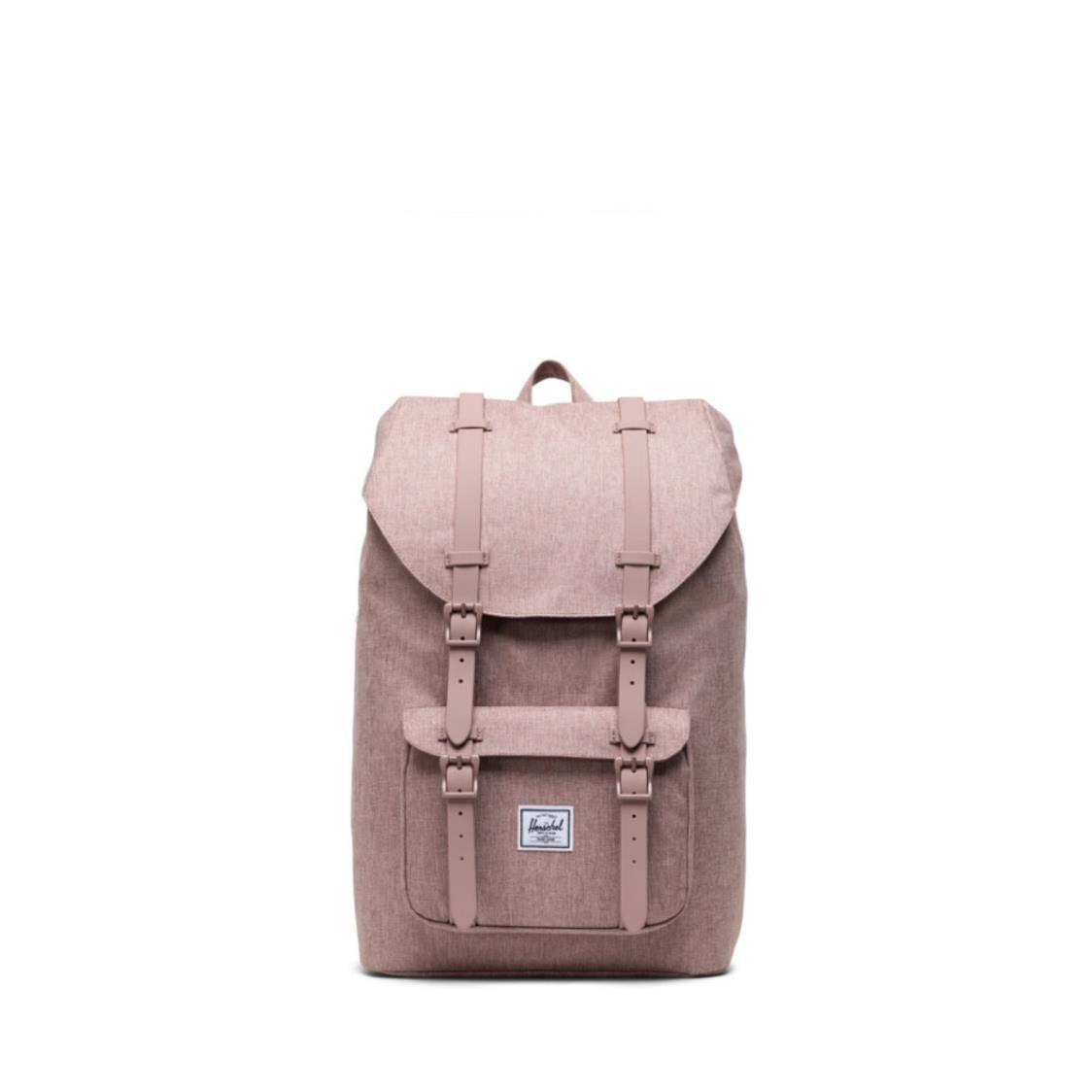 Herschel Little America Mid-Volume Ash Rose Crosshatch Backpack 10020-04885-OS