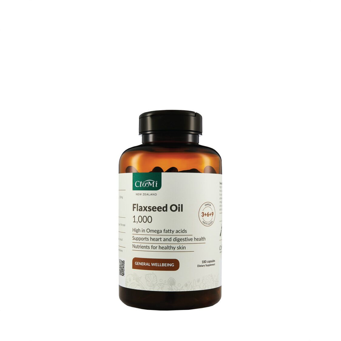 CtoMi Flaxseed Oil 180s