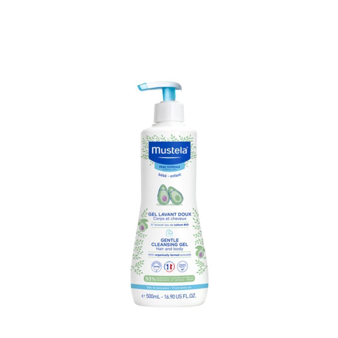 Gentle Cleansing Gel For Hair  Body 500ml