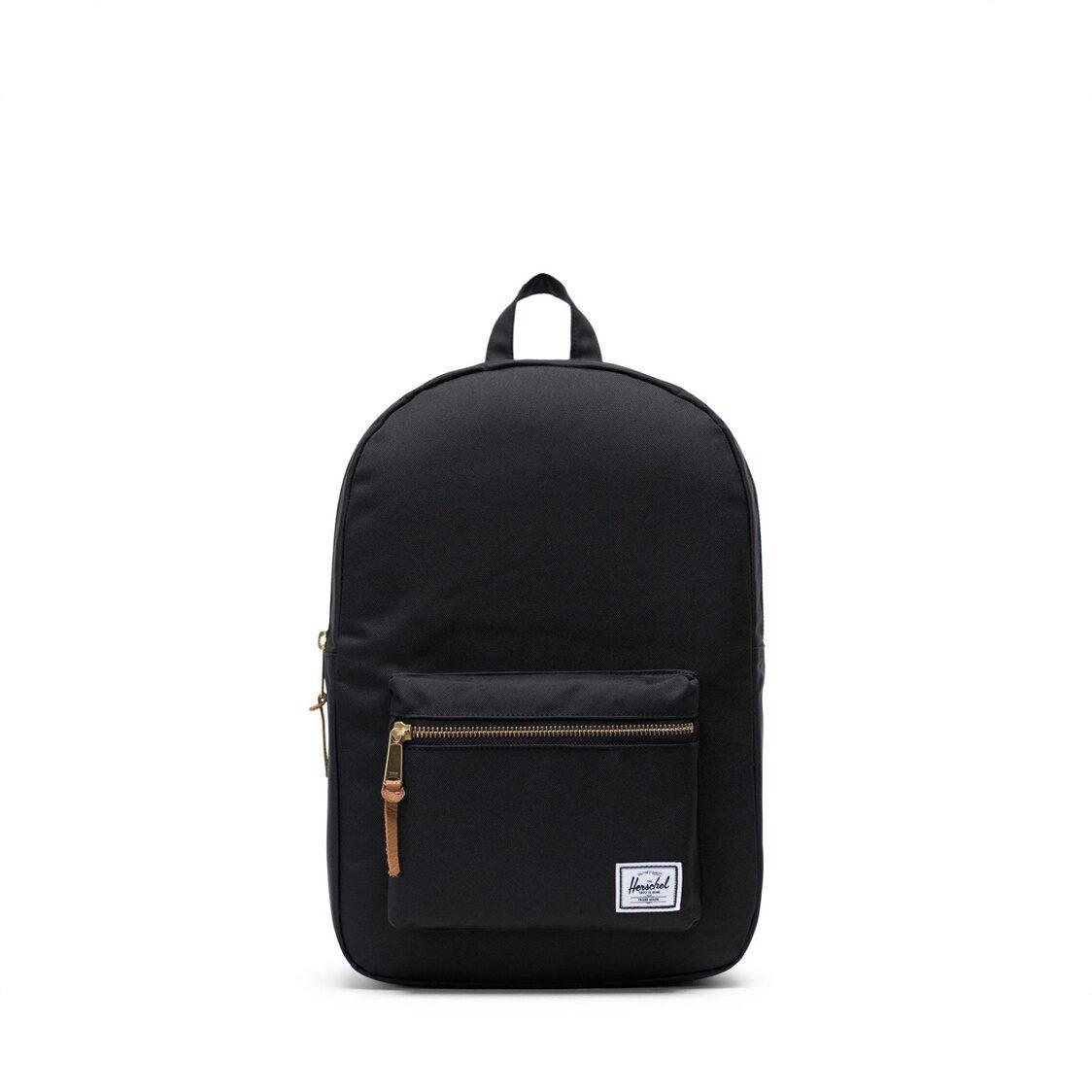 Herschel Settlement Mid Volume Black Backpack 10033-00001-OS