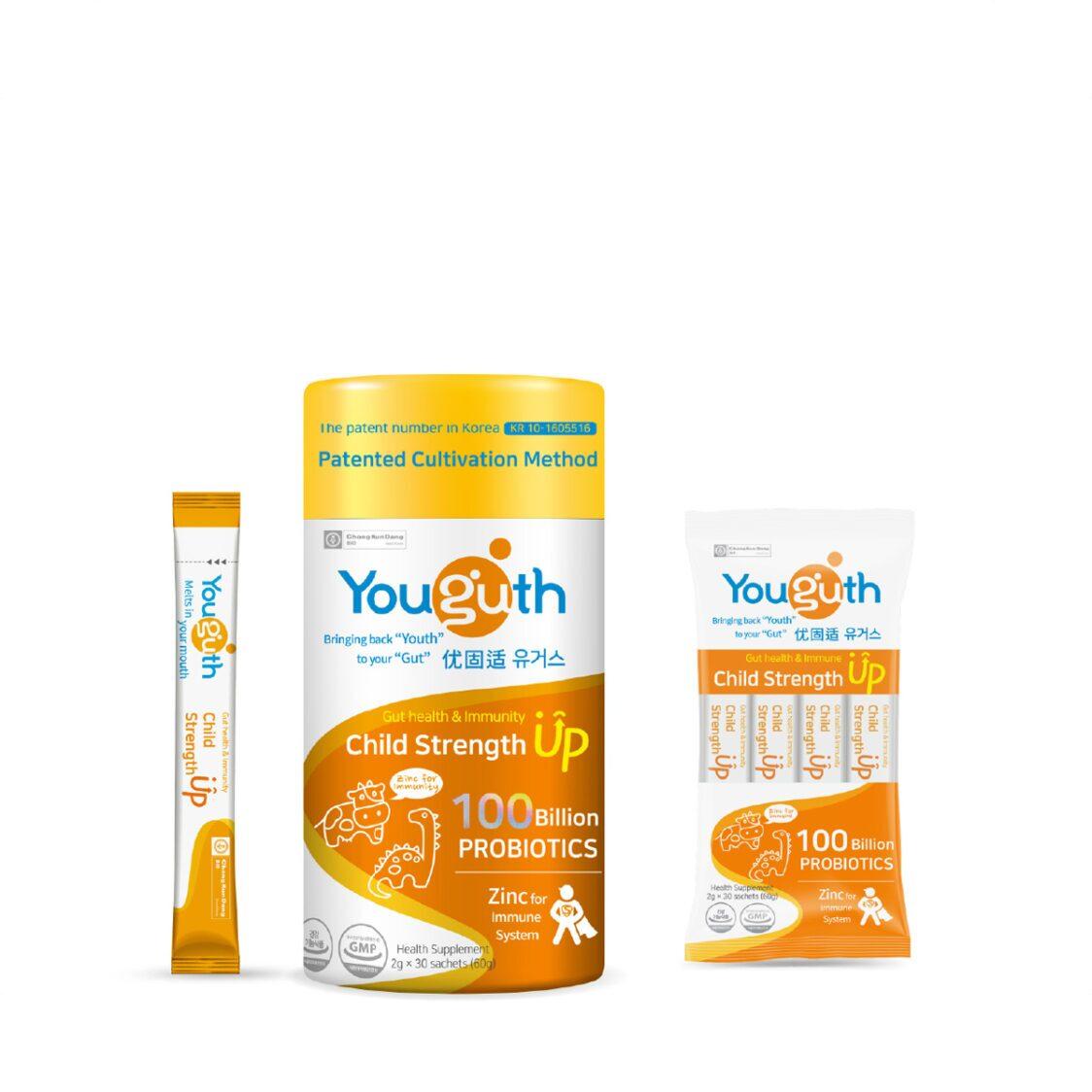 Youguth Probiotics Child Strength Up 30s