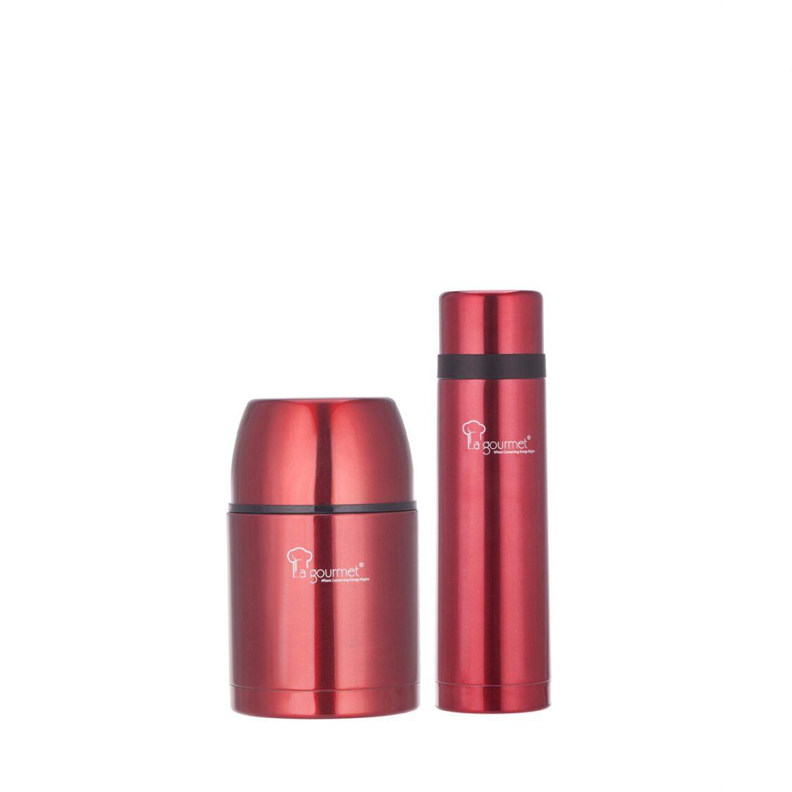 La Gourmet Red 07L Thermal Pot  05L Thermal Flask                   LGRG353153  LGRG353115