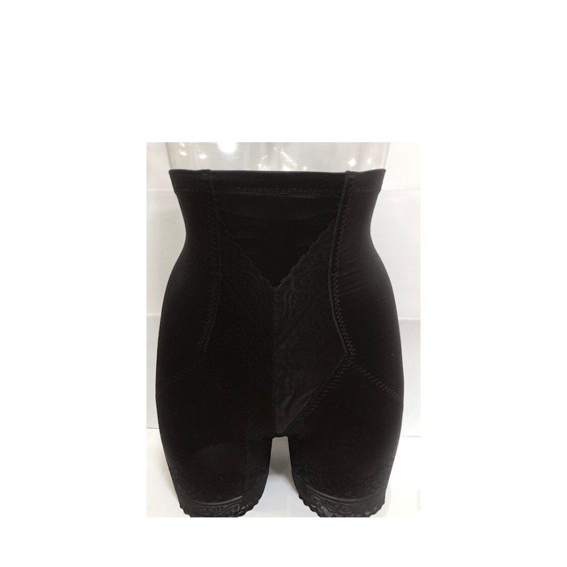 Sharefun High-Waist Long Leg Girdle Black