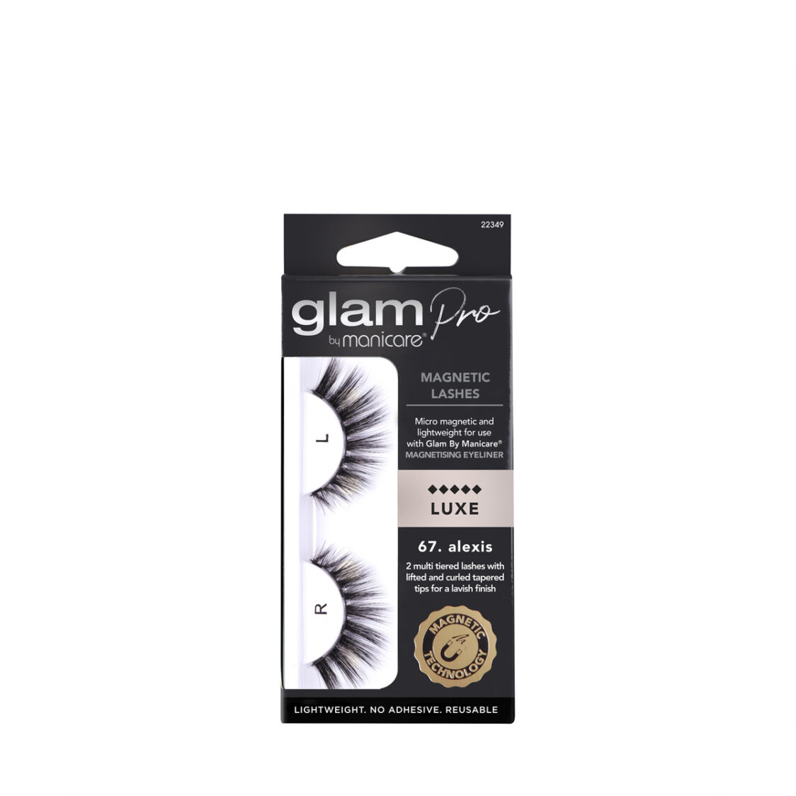 Manicare Glam Pro 67 Alexis Magnetic Lashes Luxe