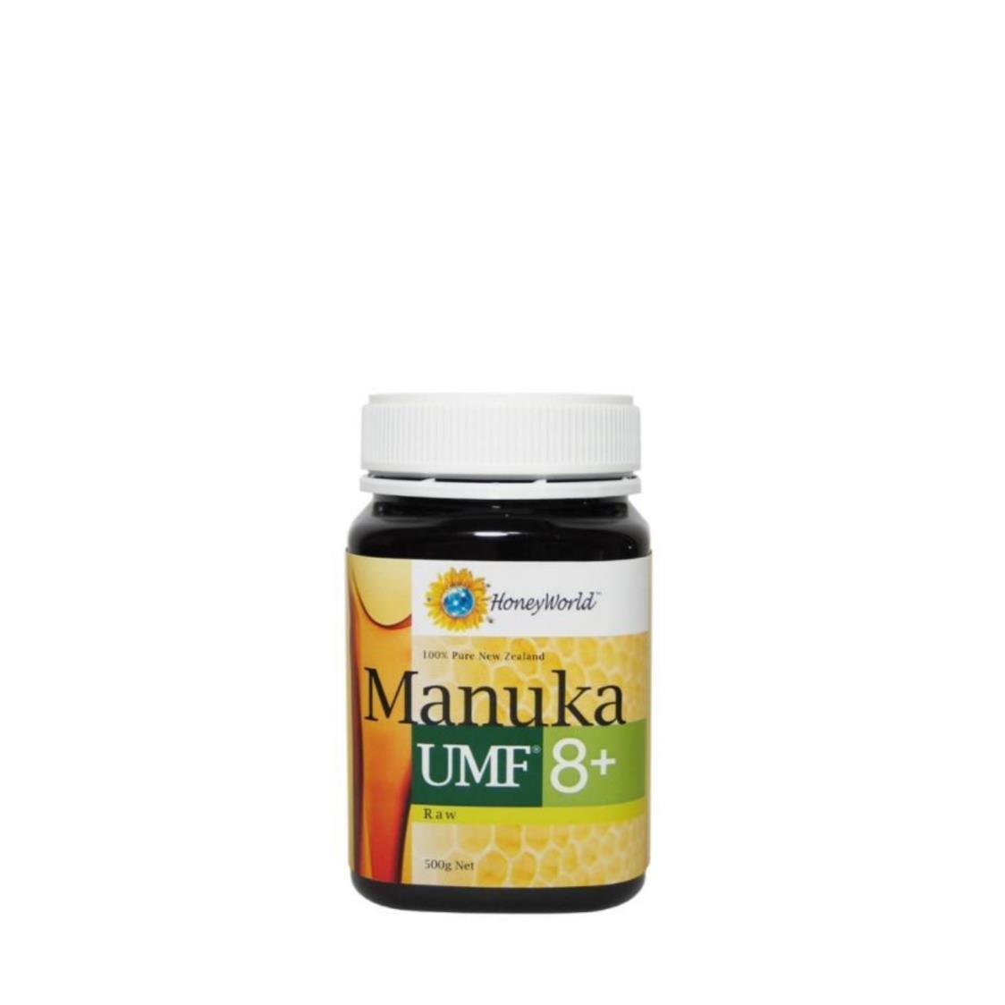 HoneyWorld Raw Manuka Umf 8 500g