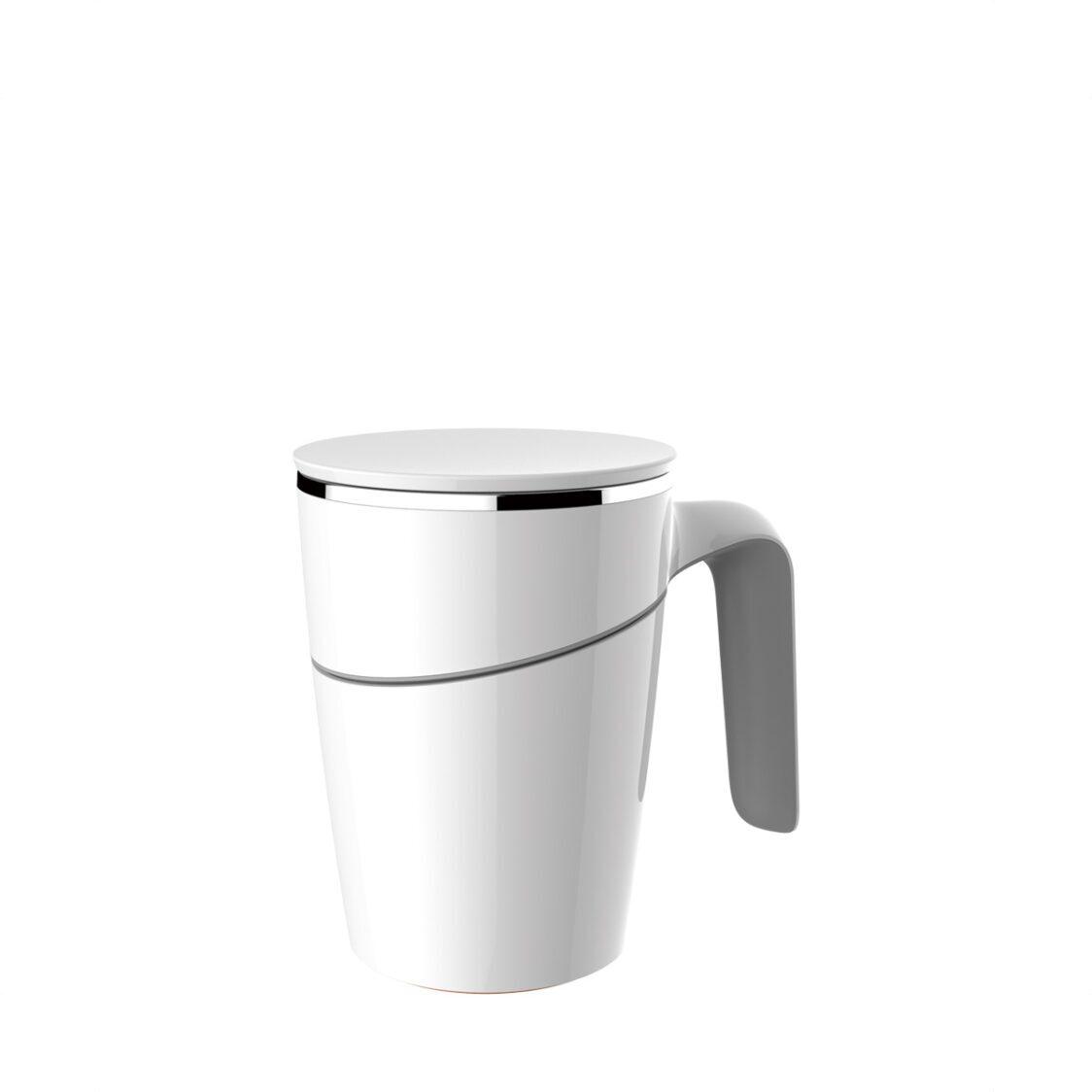 Artiart Suction Mug Grace White 470ml