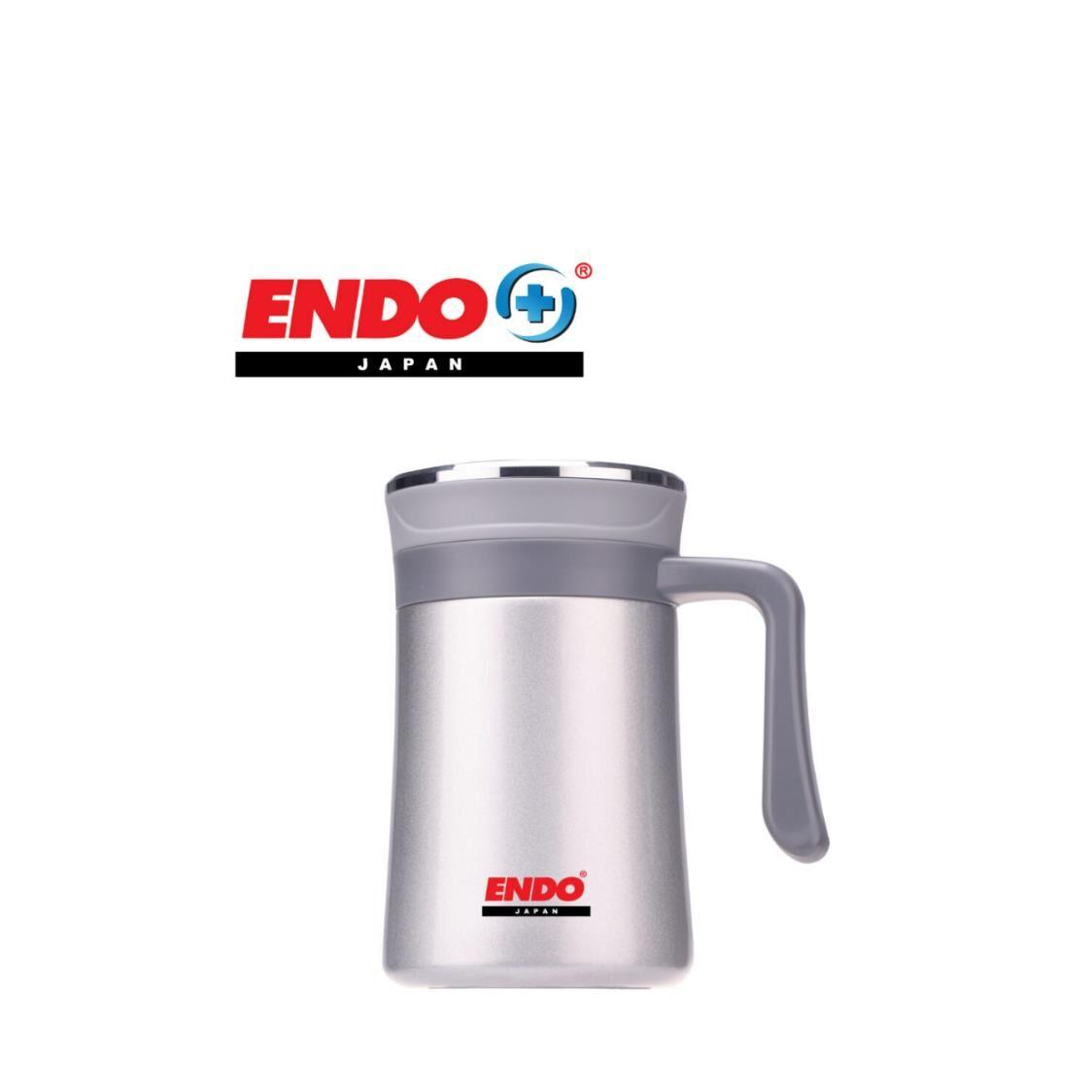 Endo Anti-bac Double Ssteel Desk Mug 500ml