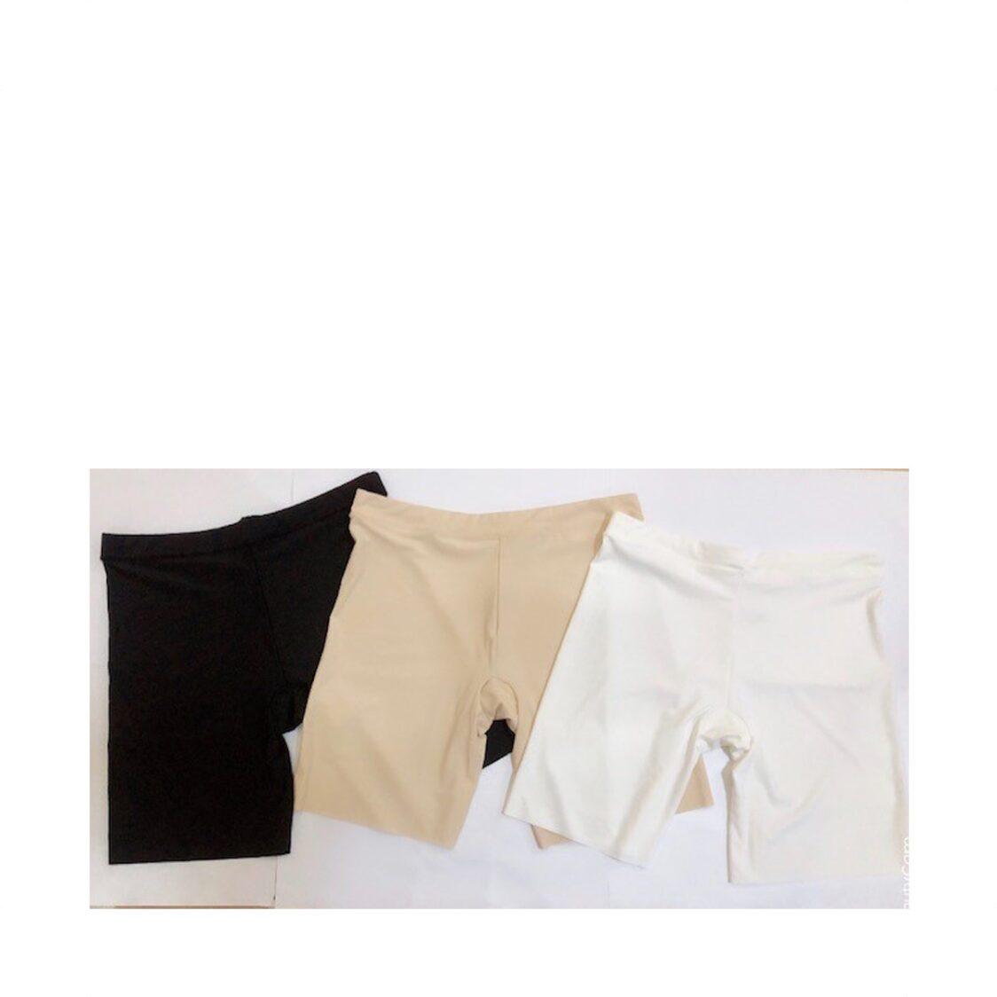 JSerene Seamless Midrise Safety Pants White One Size