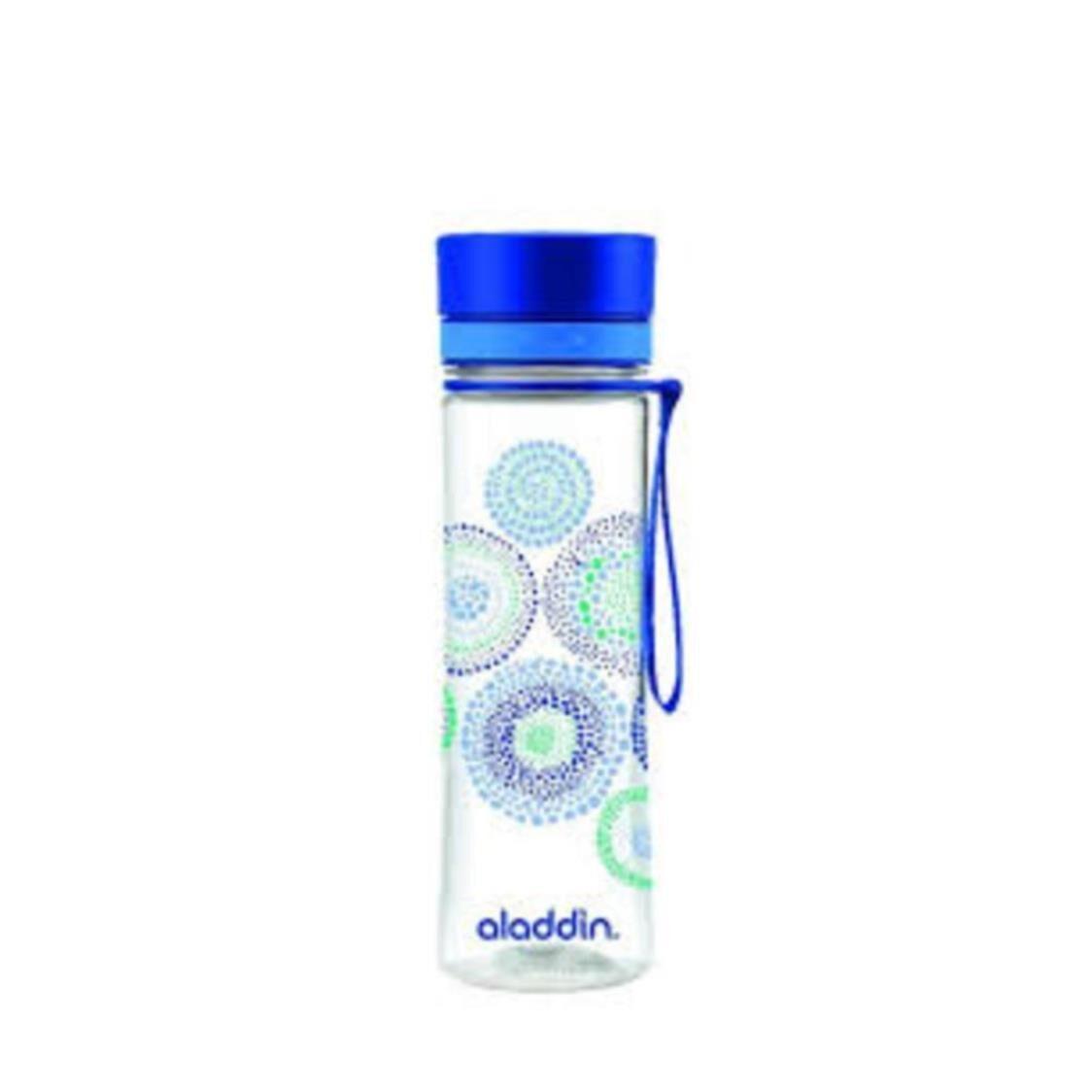 BPA-Free Aveo Water Bottle Graphic Blue 06L 1102-BPA-F-BG