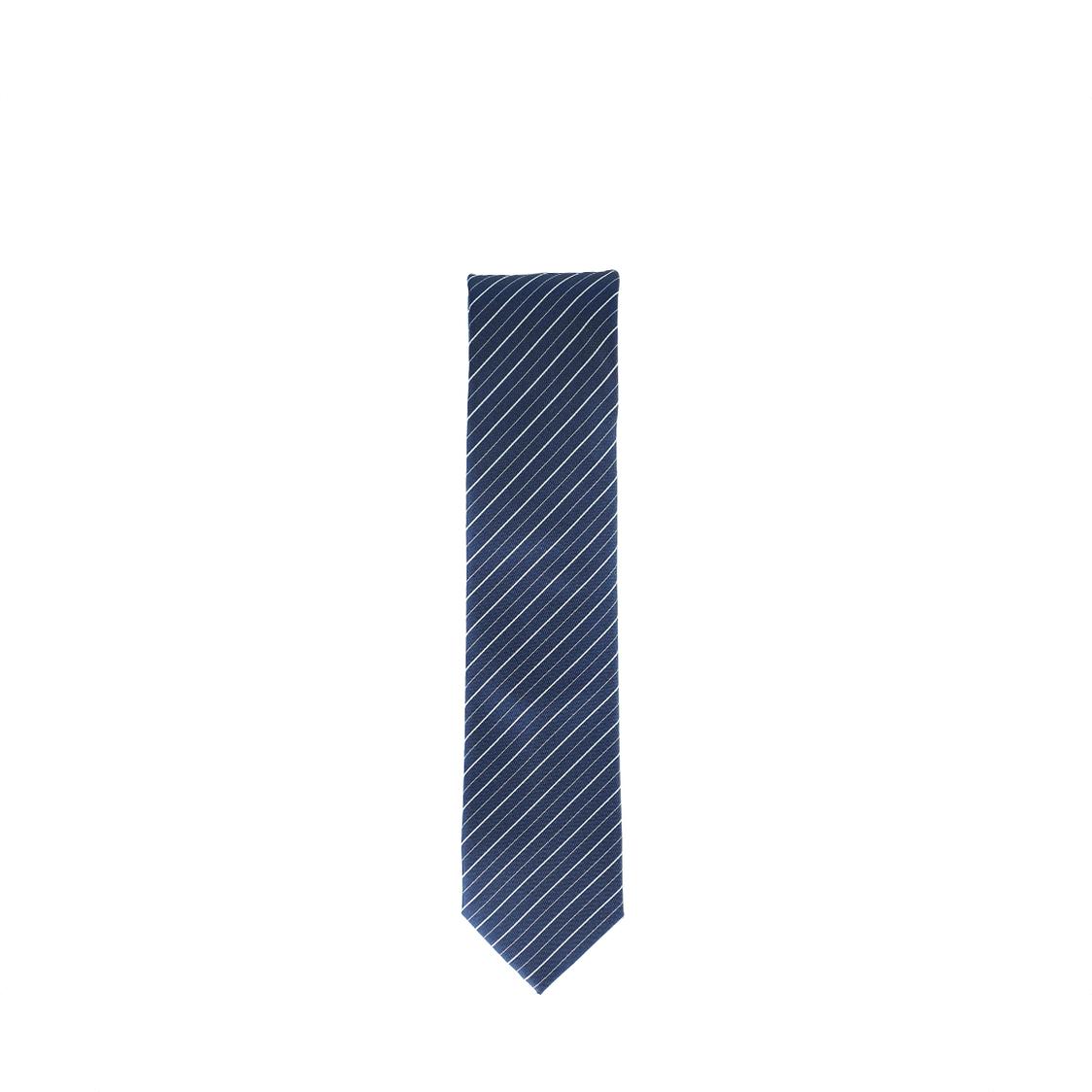 Pierre Cardin 100 Micro Polyester 7cm Blue Tie