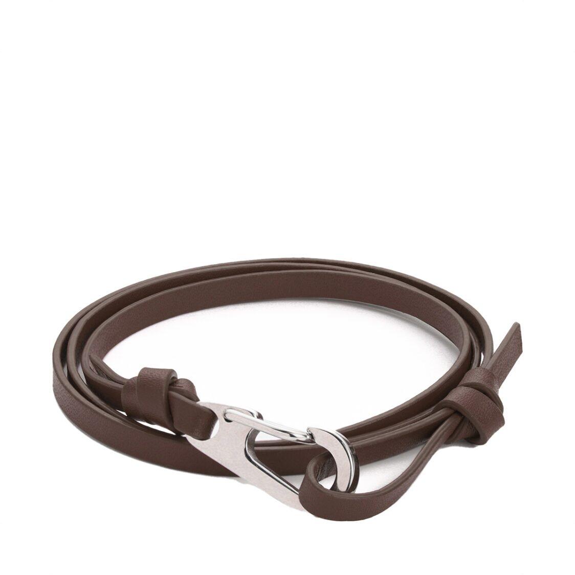 Plain Supplies Flo Bracelet - Brown Leather