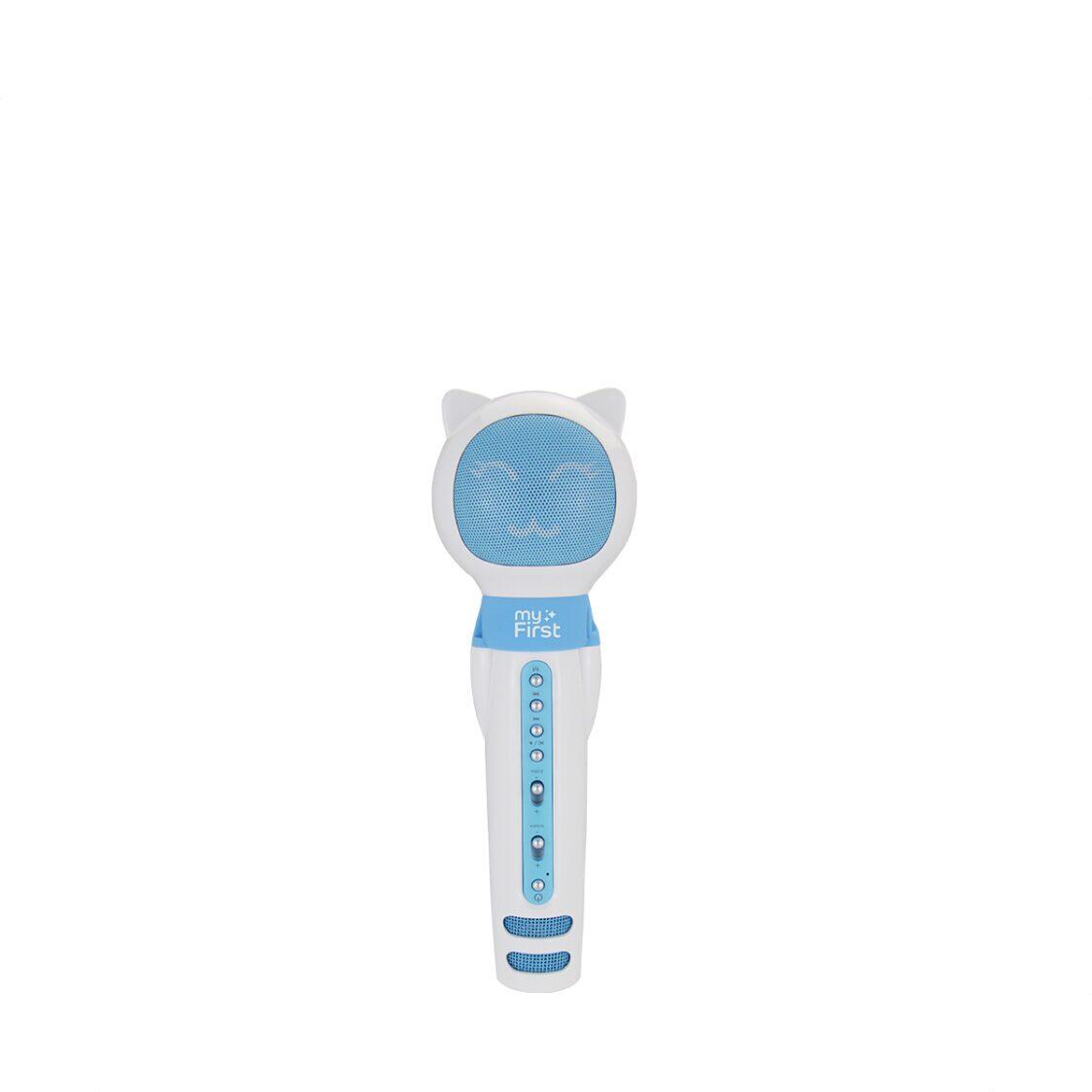 myFirst Voice Portable Interactive Microphone  Wireless Speaker Blue