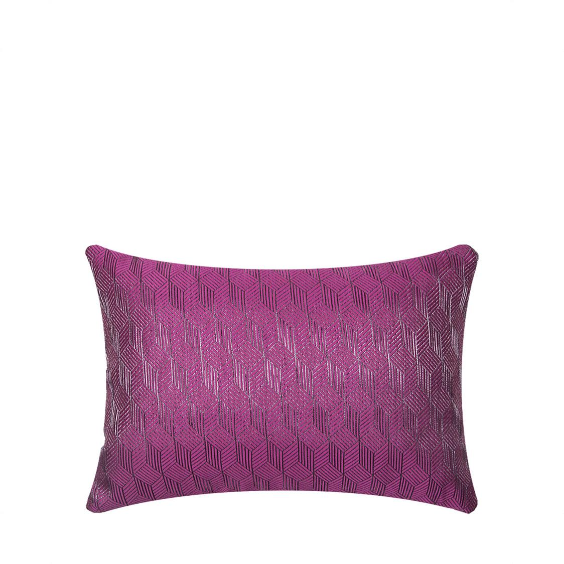 JRapee Anthunam Oblong Cushion Fuchsia 33x48cm