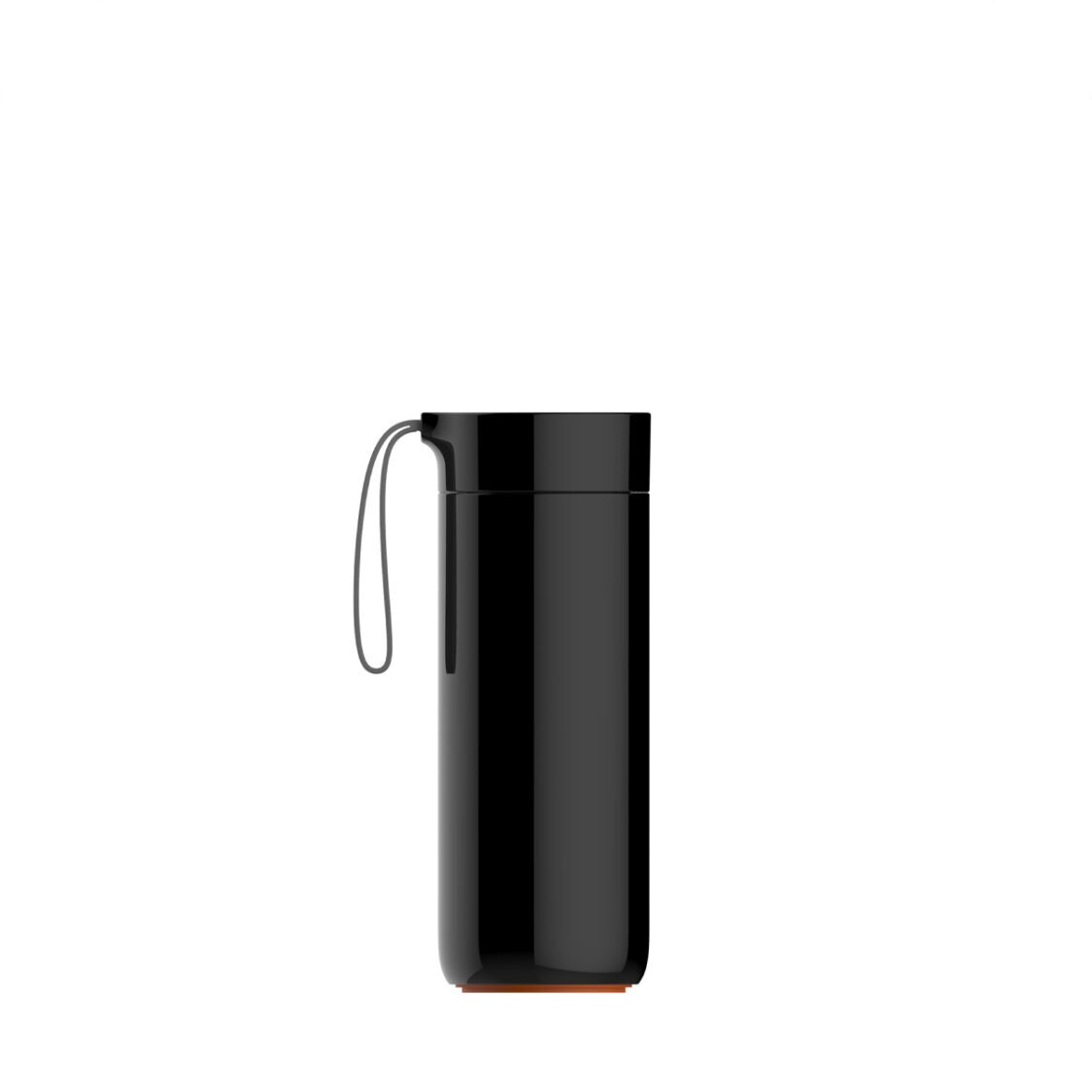 Artiart Suction Butterfly Thermal Bottle Black 400ml