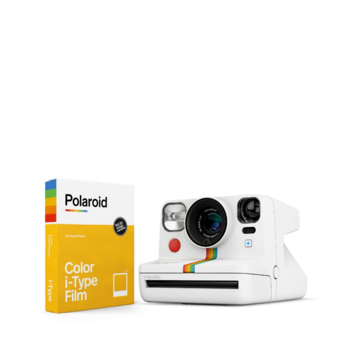 Polaroid Now Starter Kit - White
