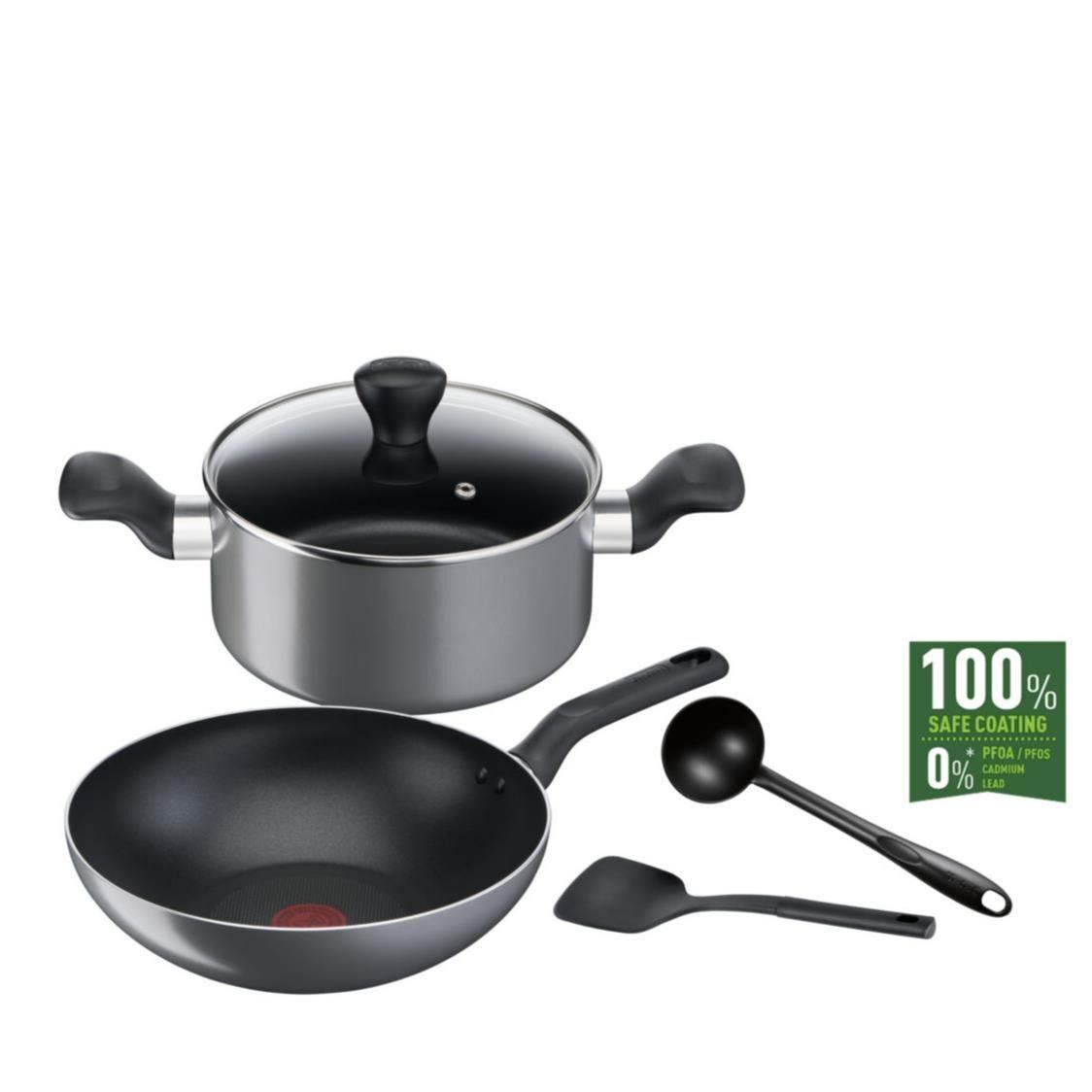 Tefal Cooking Ally 5pcs Set B505S595 Singapore